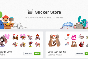 facebook saint valentine stickers