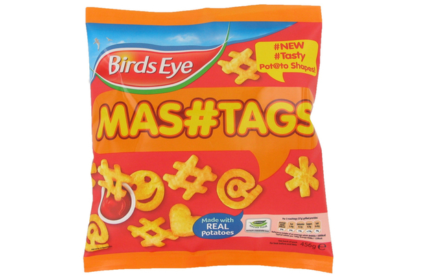 social media mashtags chips