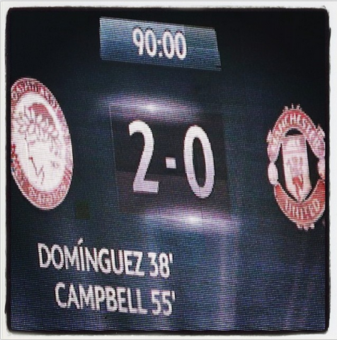 olympiacos manchester united instagram