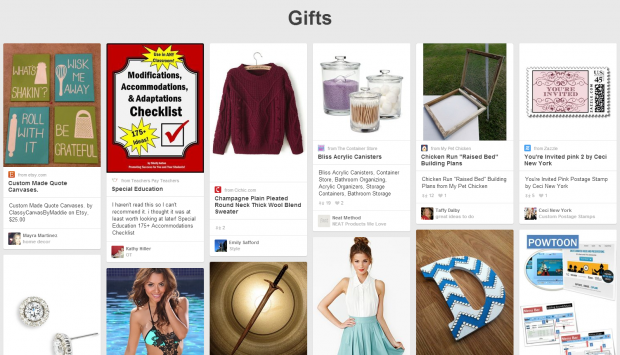 Pinterest gifts pins