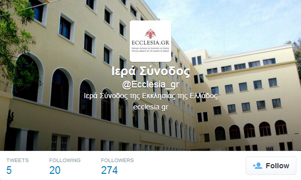 ecclesia twitter account