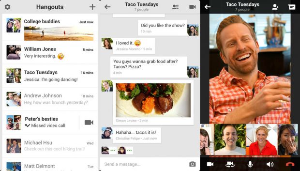 google plus hangouts for ios