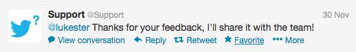 tweet reply