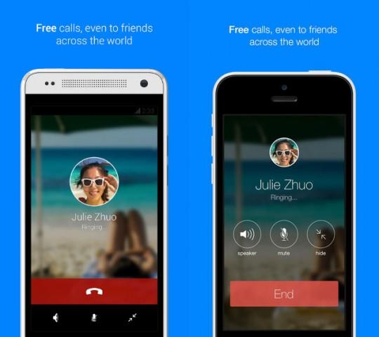 facebook messenger voip calls