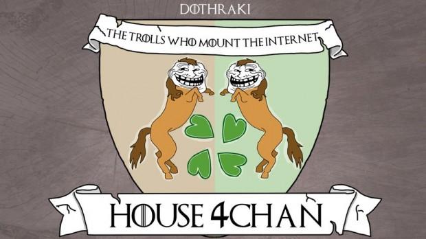house 4chan as dothraki