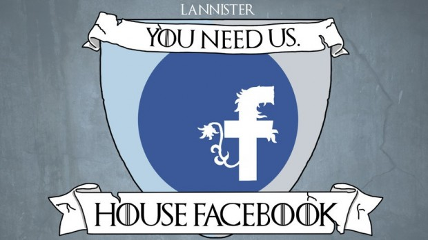 house facebook as lannister
