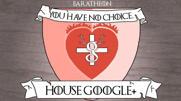 house google plus as baratheon
