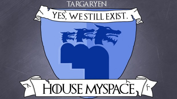 house myspace as targaryen