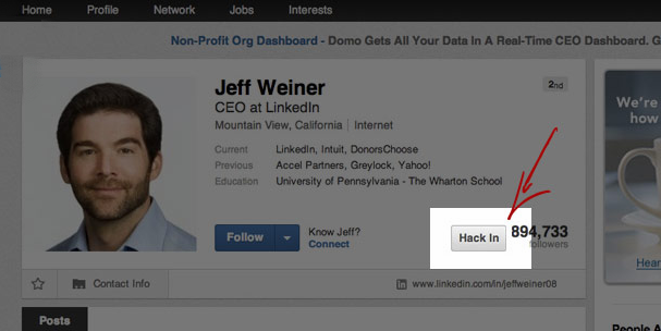 linkedin sell hack extension