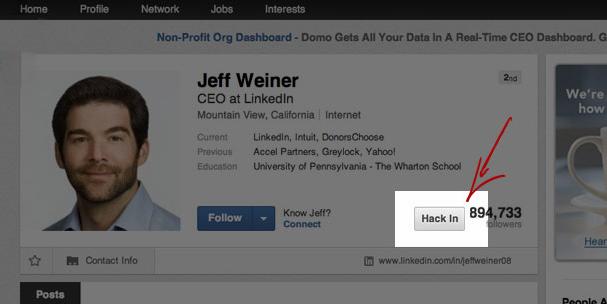 linkedin sell hack extension