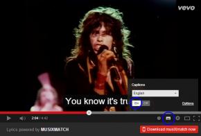 musixmatch chrome extension for youtube lyrics