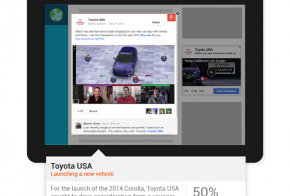 toyota usa google plus post ads
