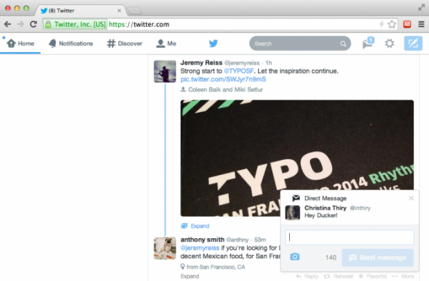twitter real time notifications