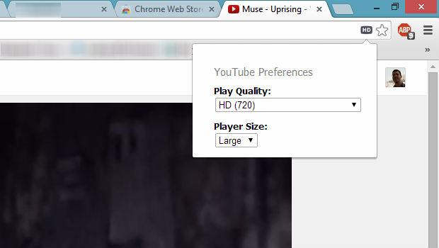 Auto HD For YouTube Google Chrome