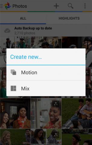 Google Plus motion mix