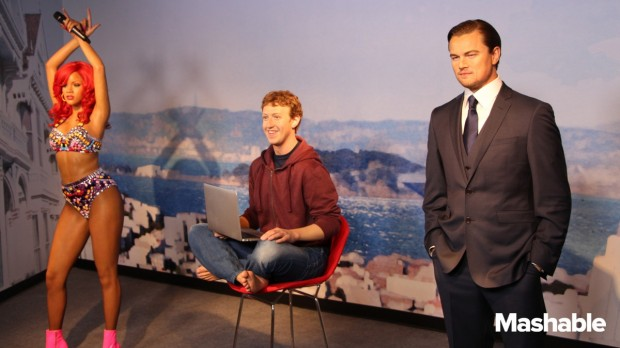 Mark Zuckerberg Madame Tussauds Museum