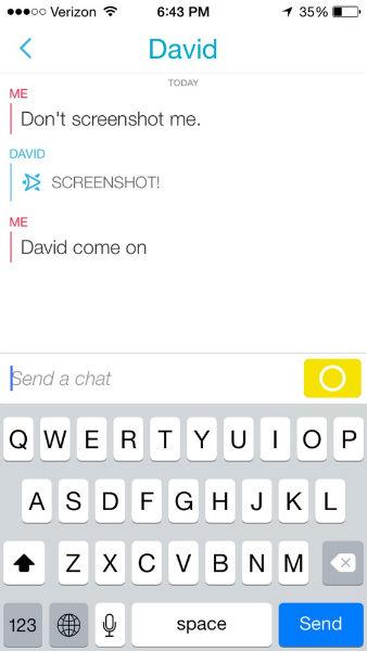 snapchat chat