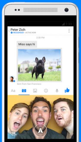 facebook messenger video messaging