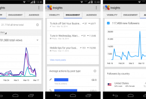 google plus insights for android