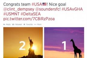 twitter Delta Airlines tweet