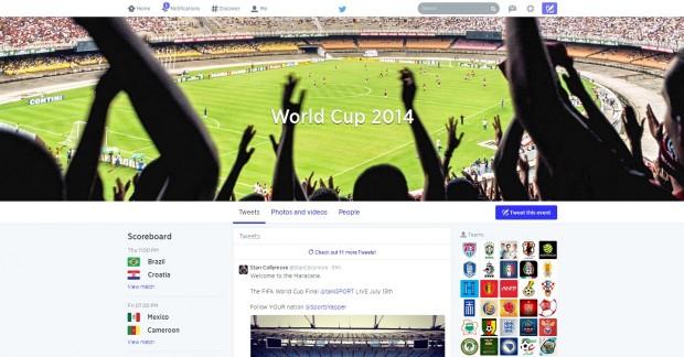 twitter mundial 2014 timeline