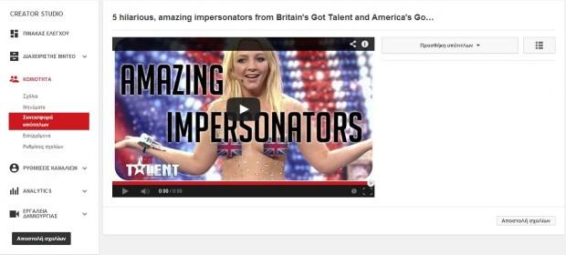 youtube Subtitles contribution
