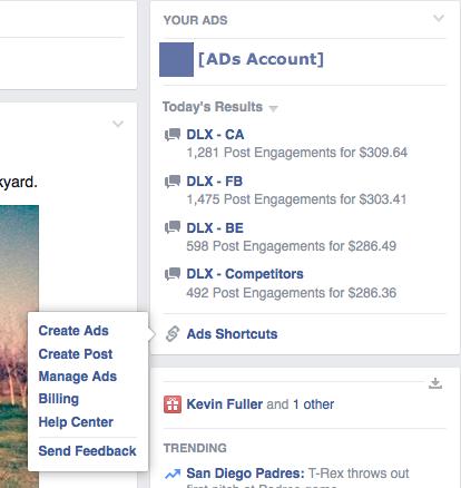 Facebook διαφημίσεις