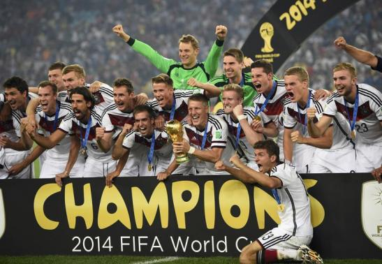 Germany champions world cup 2014