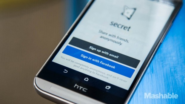 secret facebook login