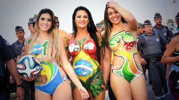 world cup 2014 babes