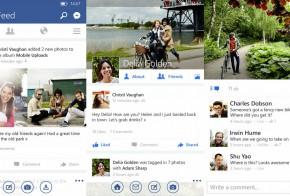 Facebook for Windows Phone big update