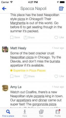new foursquare expertise