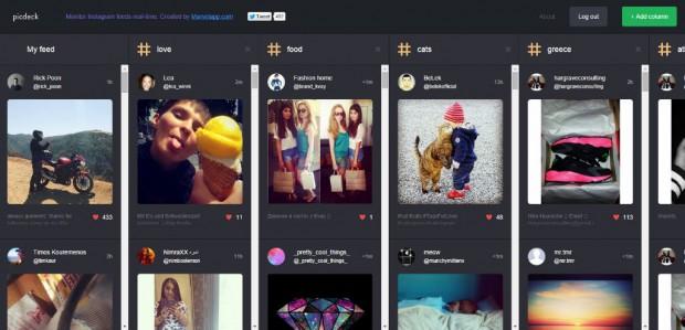 picdeck for instagram