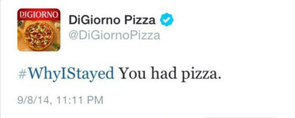DiGiorno Pizza fail tweet