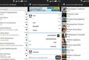 Facebook Privy Chat for Android