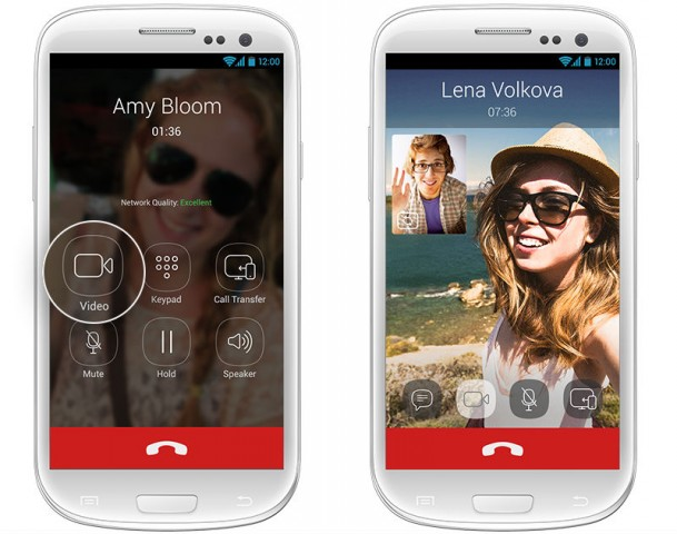 Viber video calls for Android iOS