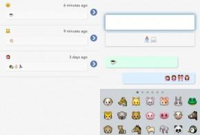 emojli messenger app