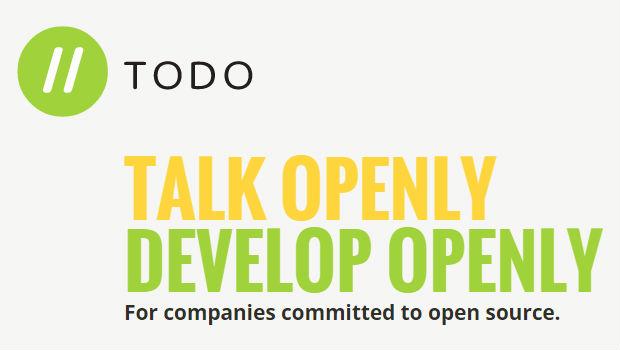 todo talk openly develop openly