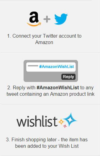 twitter amazon wish list hashtag