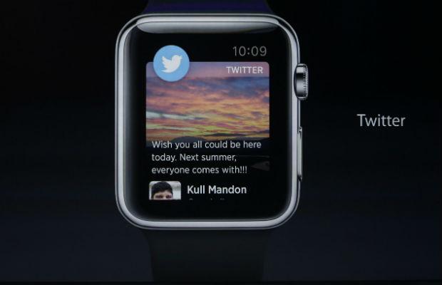 twitter app for apple watch