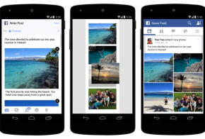 Facebook multiple photos for Android and iOS