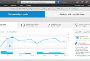 LinkedIn improves who has viewed your profile