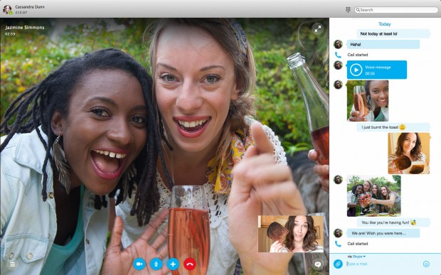 Skype new design mac