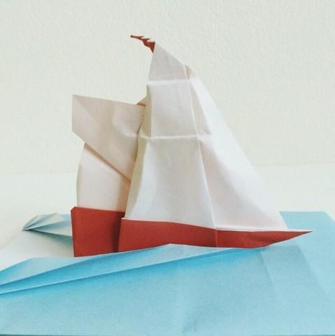 instagram origami