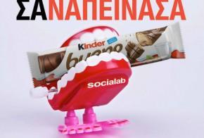 socialab and kinder bueno