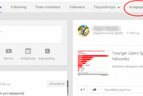 Google Plus Anafores Mentions