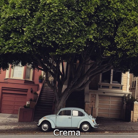 Instagram Crema photo filter