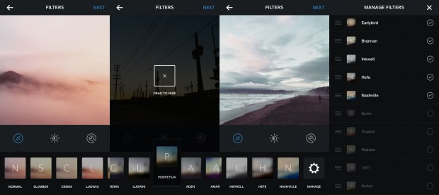 Instagram new filters