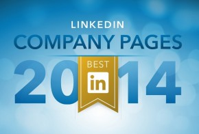 LinkedIn best of company pages 2014