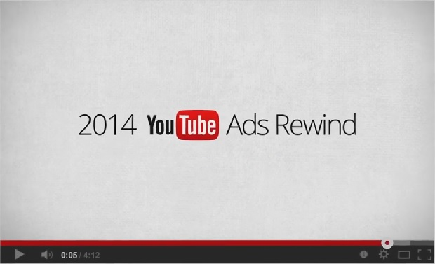 YouTube best of ads 2014